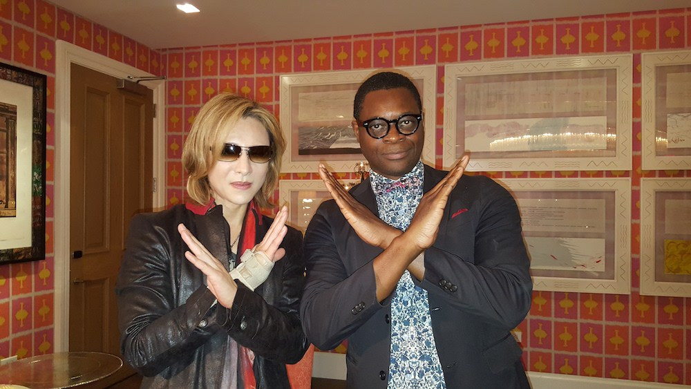Yoshiki Interview