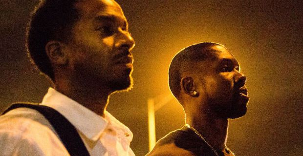 Moonlight Interview with André Holland and Trevante Rhodes @_Trevante_ @moonlighmov @A24