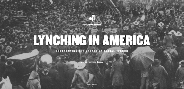 Equal Justice Initiative Launches Lynching In America with Google