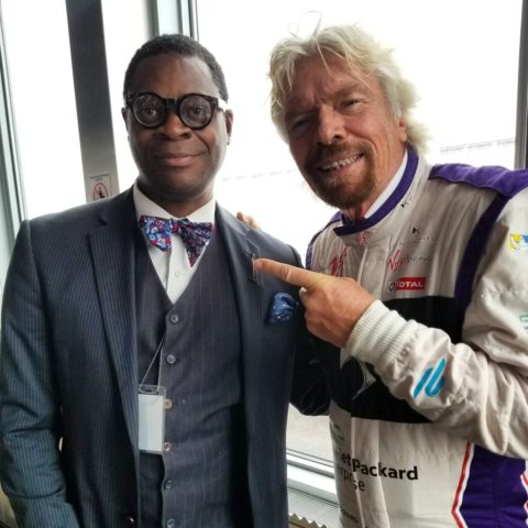 Sir Richard Branson New York ePrix Race Preview